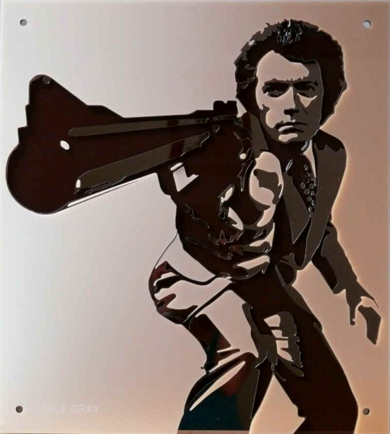 Dirty Harry - incorporating Bronze Mirror and Pearlescent Caramel acrylics