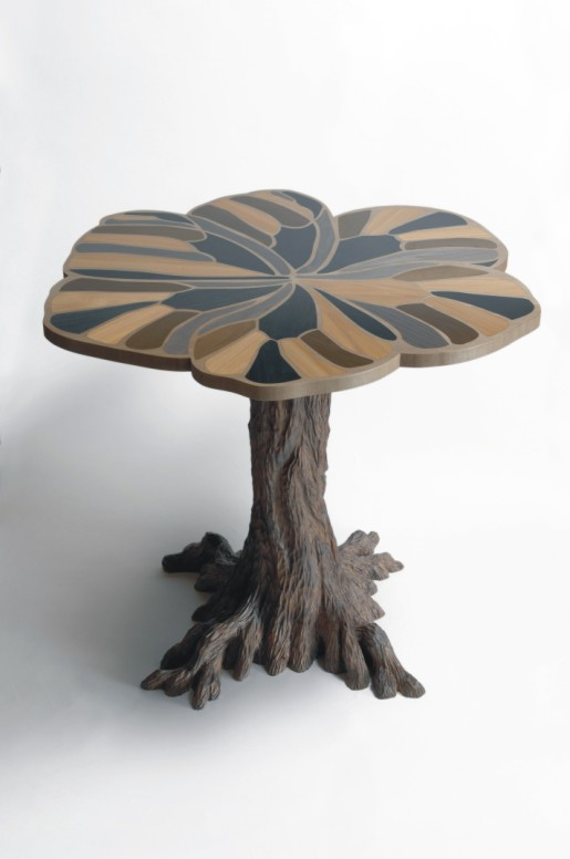 Marquetry tables for Nelly May Ltd