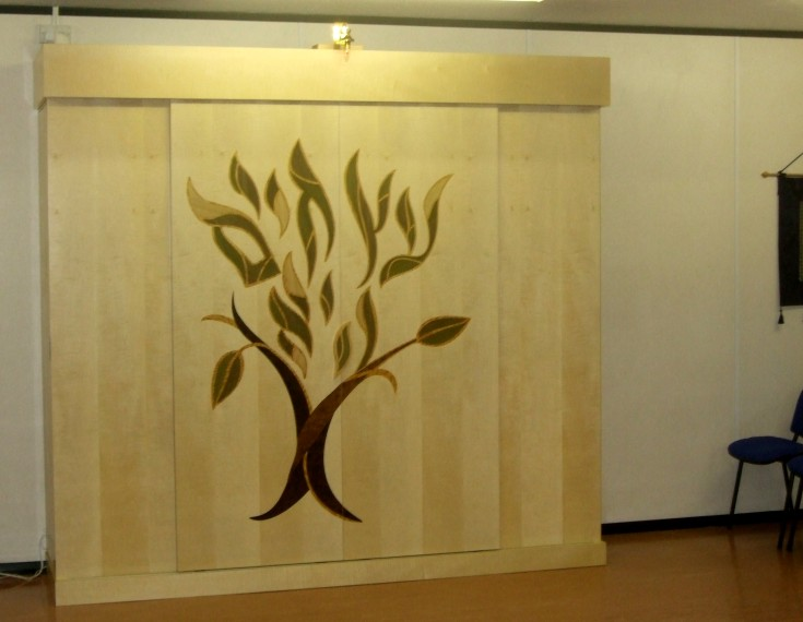 Milton Keynes Synagogue project,made with John Nicholas Bespoke Furniture Ltd